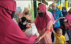 Barbagi Saat Pandemi Covid-19, TK IT Darun Nadwah Lahat Gelar Baksos di Tahun Ke Empat