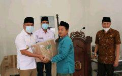 Cik Ujang, Sholat Jum'at Berjama'ah Pertama Diawal Bulan Suci Ramadhan 1442 H di Masjid Nurul Huda Desa Batay