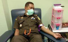 Kasi Intel Kejari Muba Donor Darah Untuk Anak Penderita Thalassemia