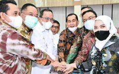 Bupati Lahat, Cik Ujang SH Hadiri Audiensi Bersama Ketua KPK Terkait Pengadaan Barang dan Jasa