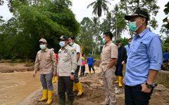 Bupati Lahat Tinjau Lokasi Banjir dan Tanah Longsor
