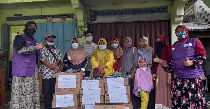 Salimah OKU serhakan bantuan untuk korban kebakaran